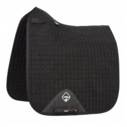 LeMieux Dressage Luxury Sort sadelunderlag
