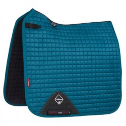 LeMieux Dressage Luxury peacock green sadelunderlag